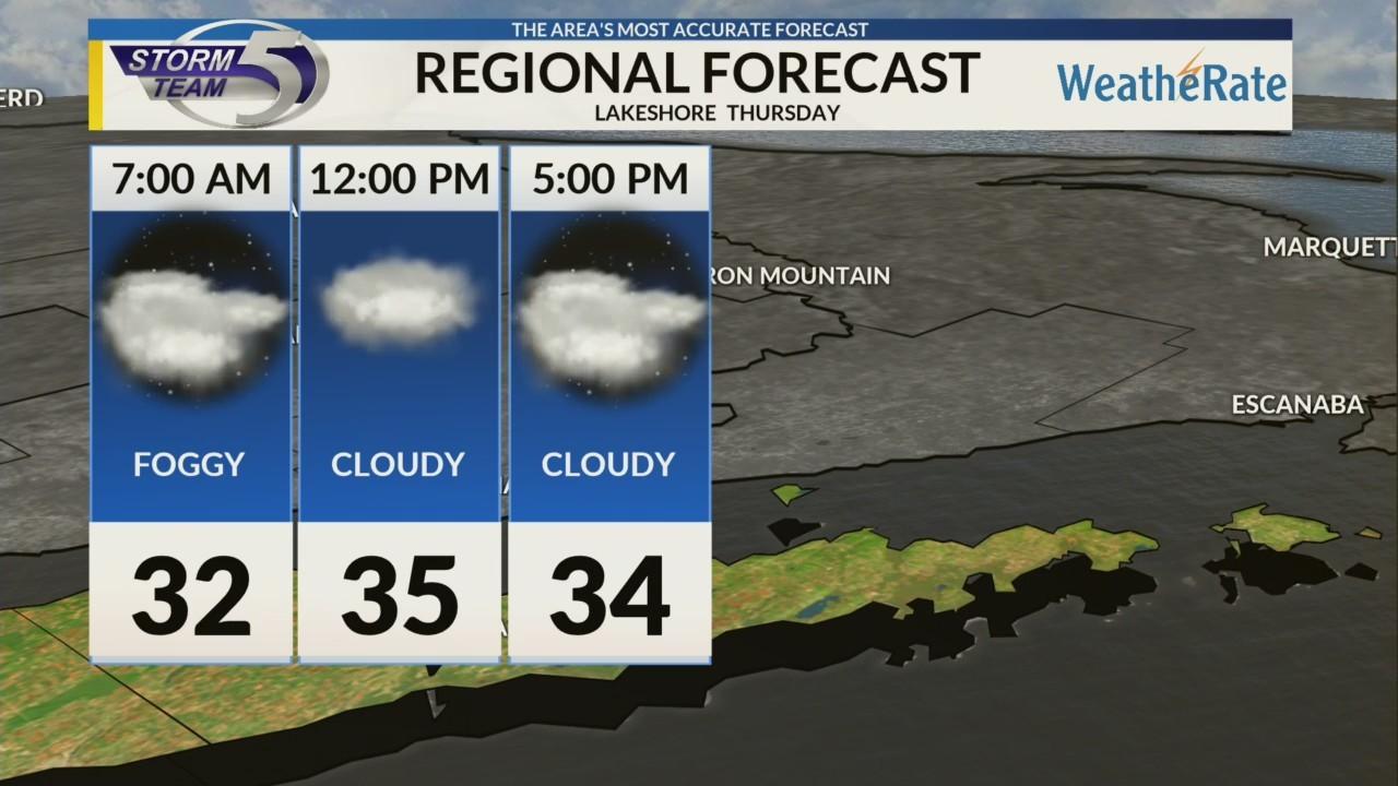 Regional Forecast: Lakeshore 12-13