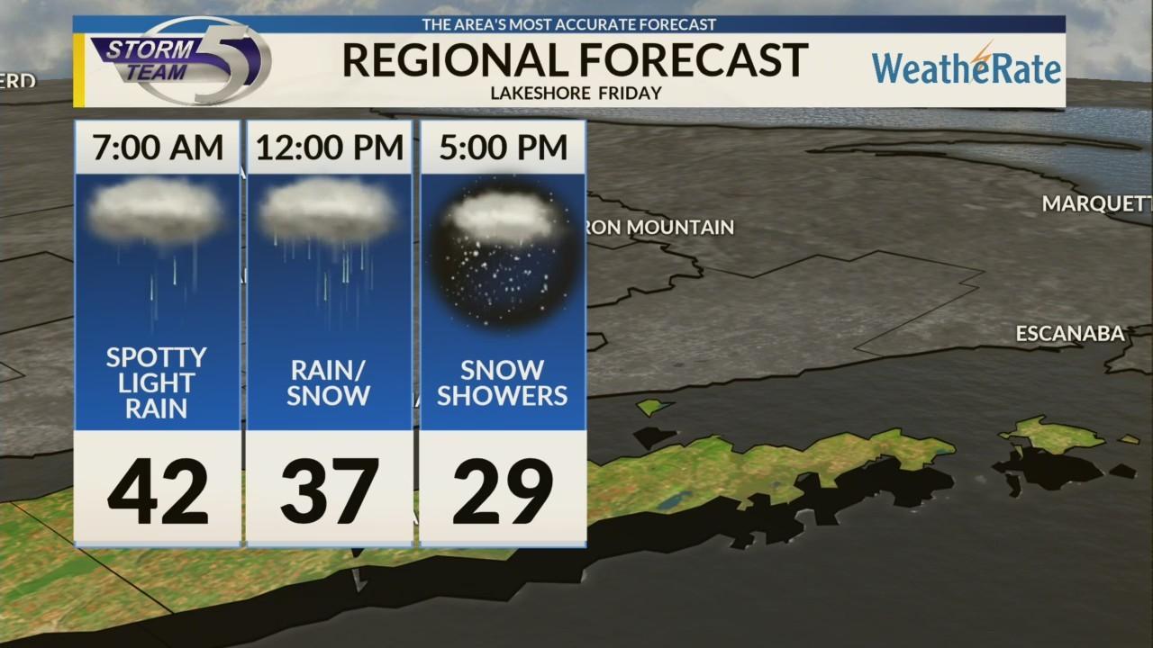 Regional Forecast: Lakeshore 12/28