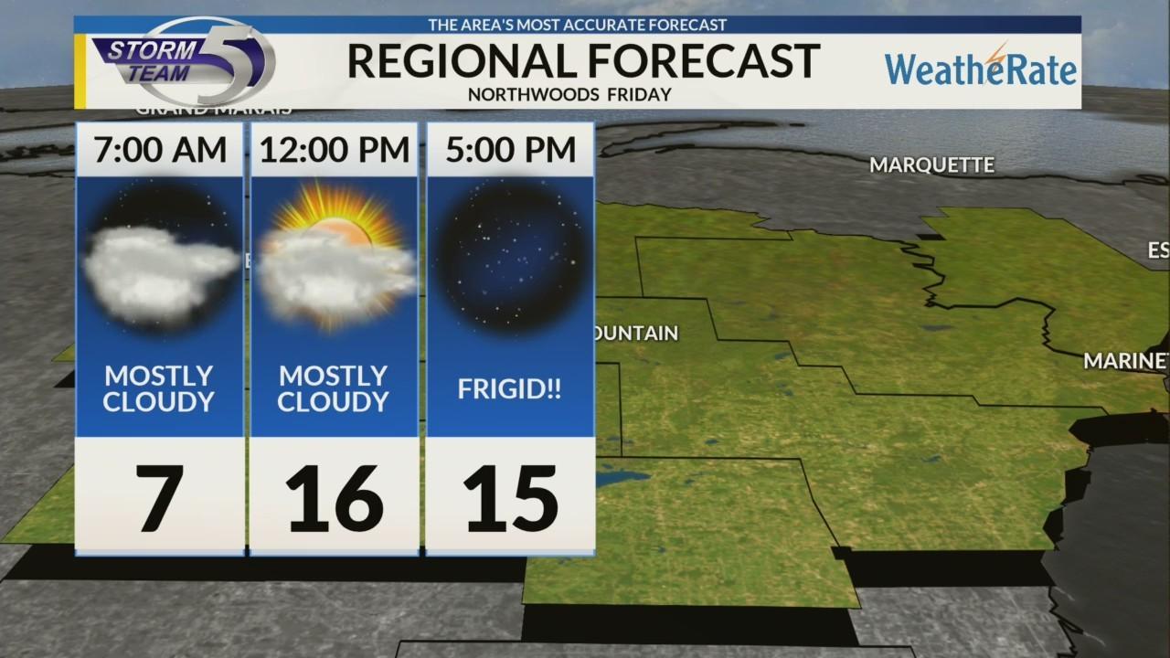 Regional Forecast: Northwoods 12/7/2018
