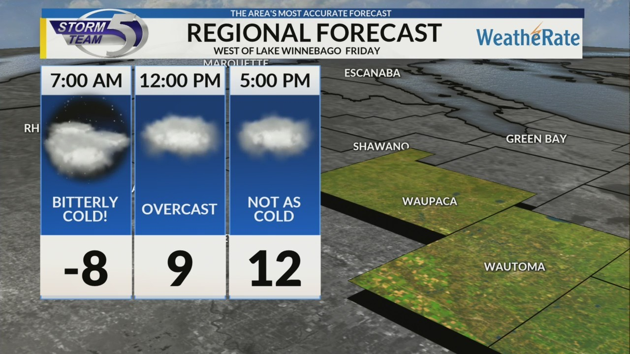 Regional Forecast: Central WI 2/1/2019