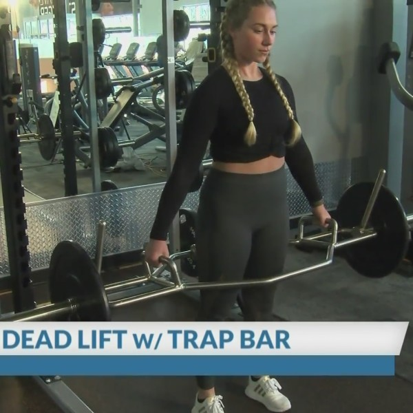 Dead Lifts with a Trap Bar