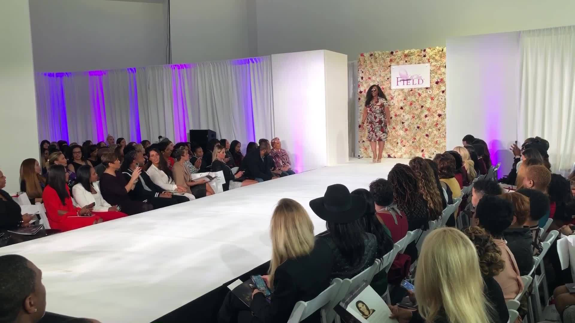 Off The Field Players Wives host 18th annual fashion show ahead of Big Game