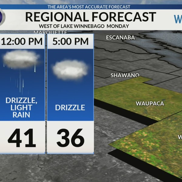 Regional Forecast: Areas West of Lake Winnebago 2/4