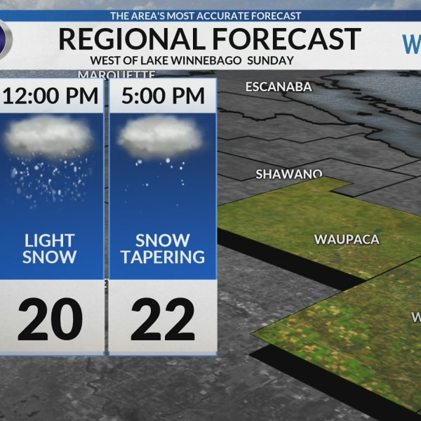 Regional Forecast: Central WI 2/10/2019