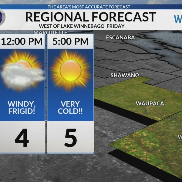 Regional Forecast: Central WI 2/8/2019