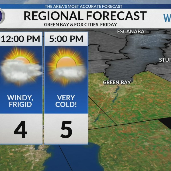 Regional Forecast: Green Bay/Valley 2/8/2019