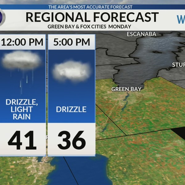 Regional Forecast: Green Bay and the Fox Cities 2/4