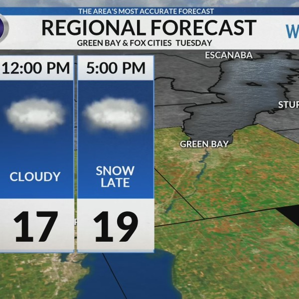 Regional Forecast: Green Bay and the Fox Cities 2-5
