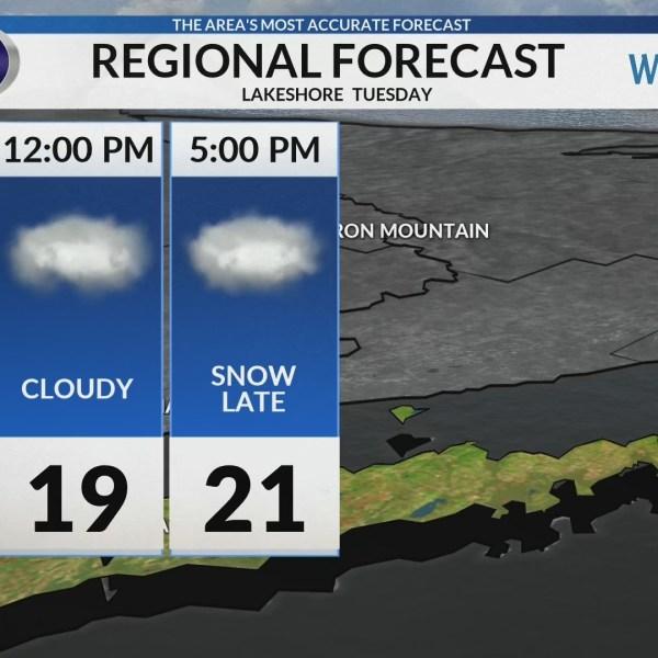 Regional Forecast: Lakeshore 2-5