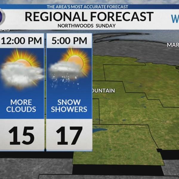 Regional Forecast: Northwoods 2/10/2019
