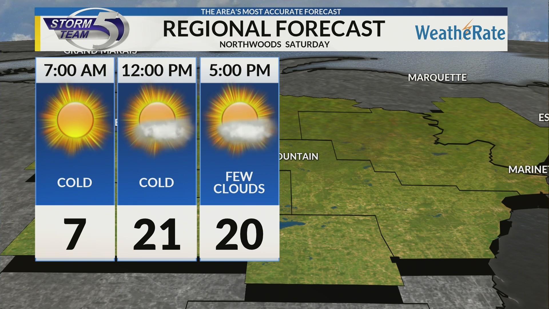 Regional Forecast: Northwoods 2/16/2019