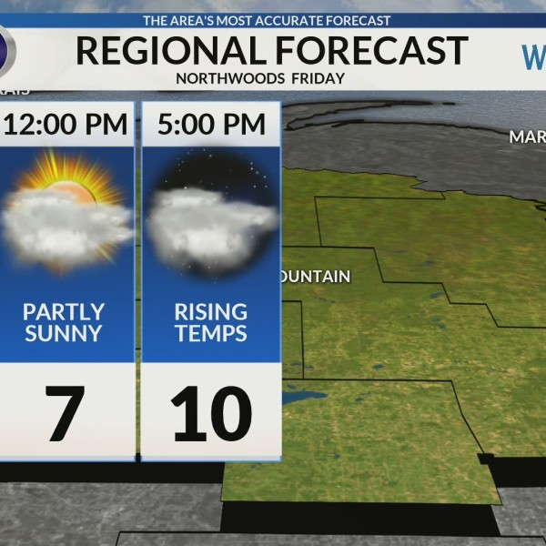 Regional Forecast: Northwoods 2/1