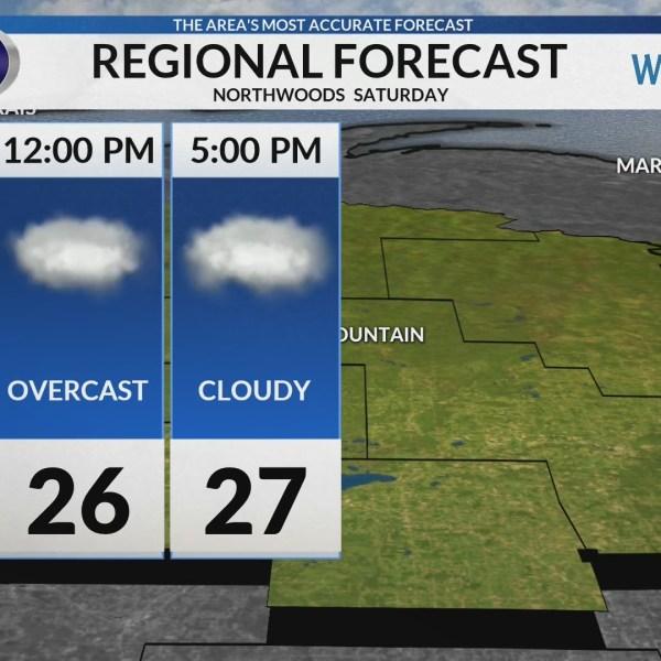 Regional Forecast: Northwoods 2/2/2019