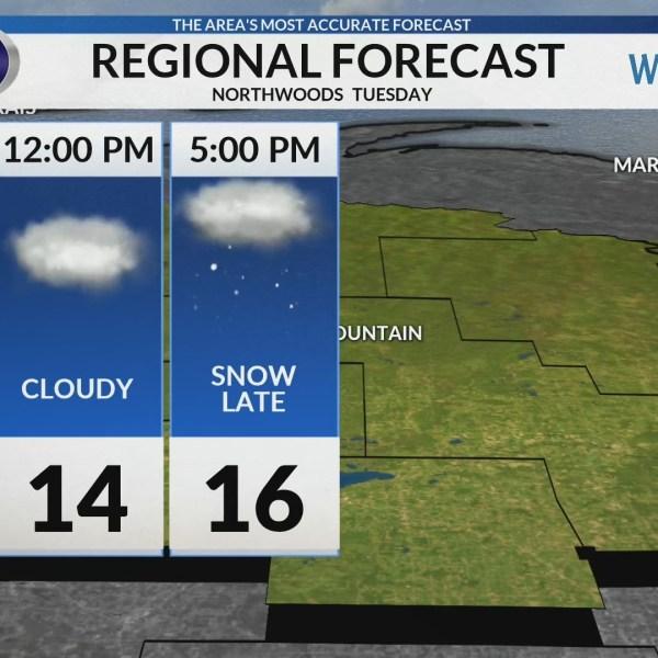 Regional Forecast: Northwoods 2-5
