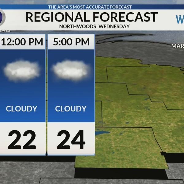 Regional Forecast: Northwoods 2/6/2019