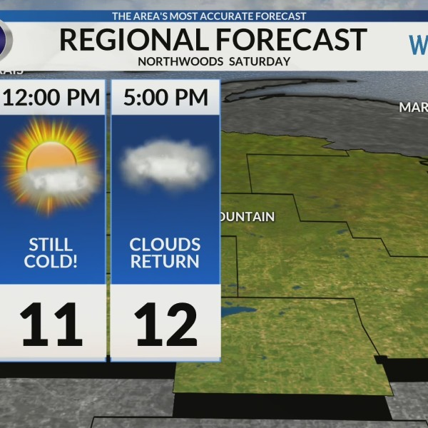 Regional Forecast: Northwoods 2/9/2019