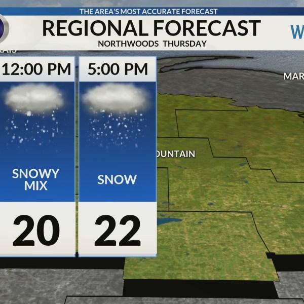 Regional Forecast: Northwoods  2/7/2019