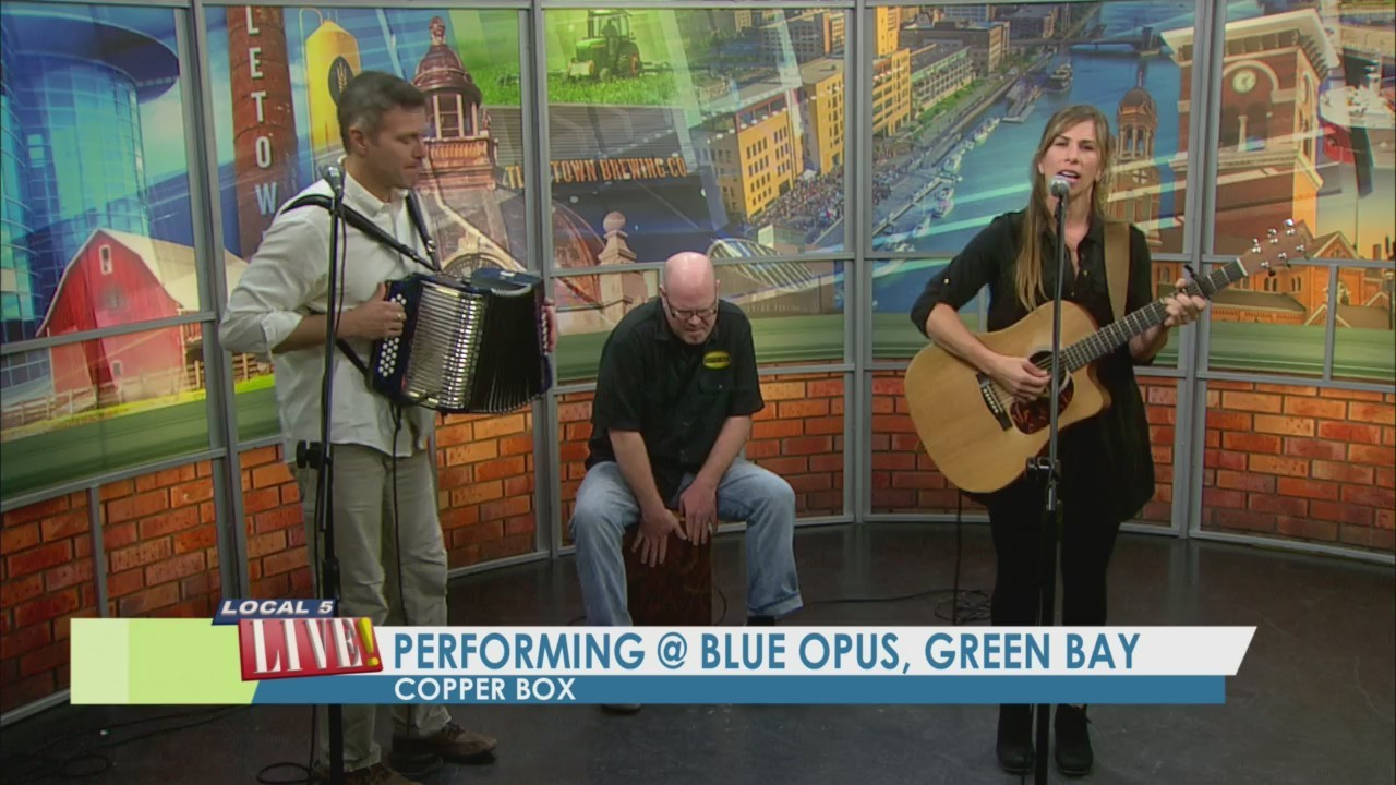 Copper Box Performs Live!