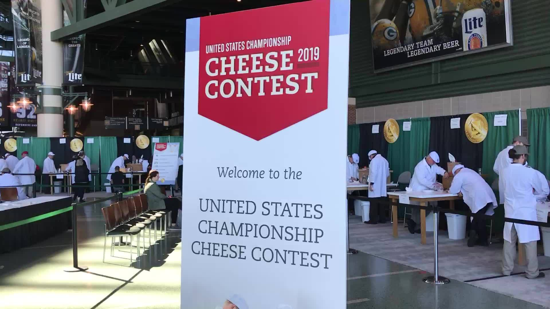 Lambeau Field Gets Cheesy for U.S. Championship Cheese Contest