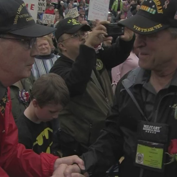 Old Glory Return to Nam Welcome Home Ceremony