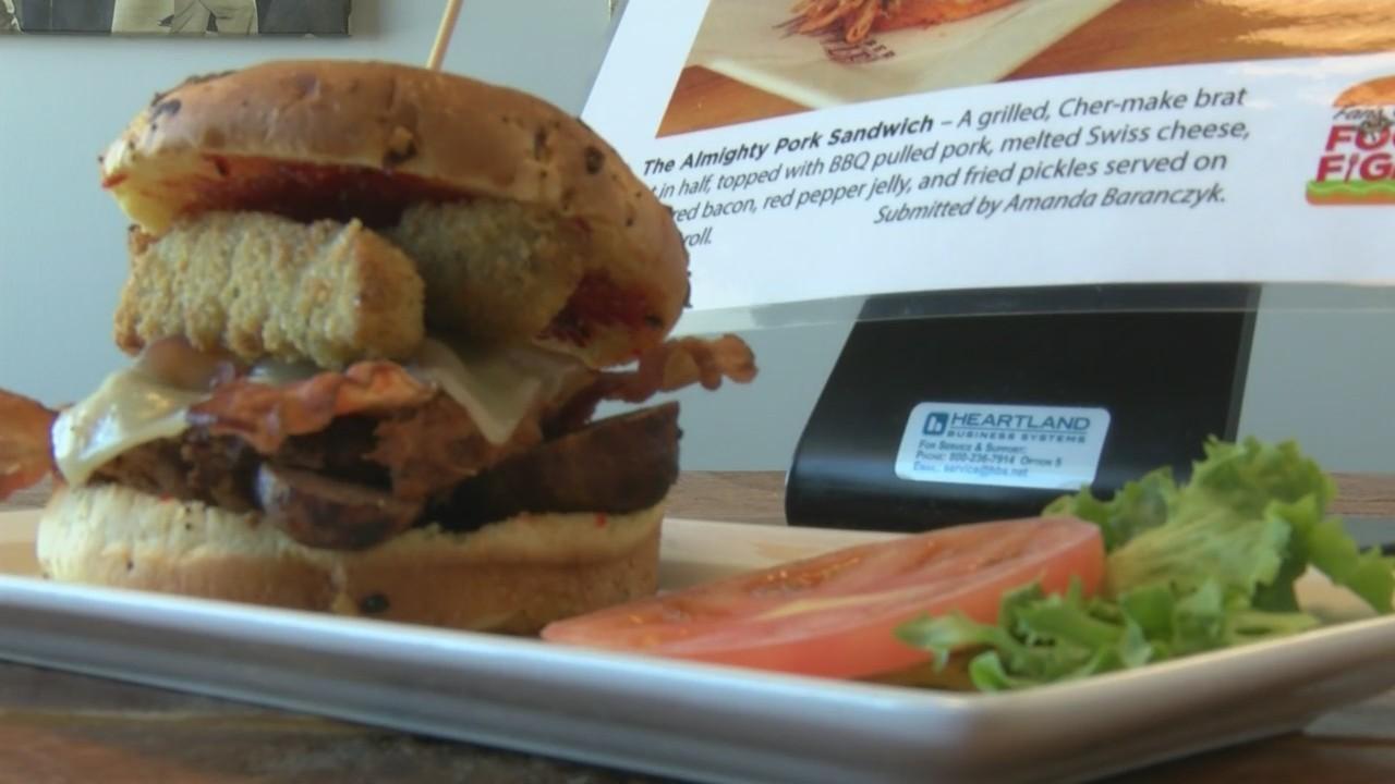 The Almighty Pork Sandwich
