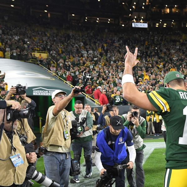 Aaron Rodgers After Win Over Bears