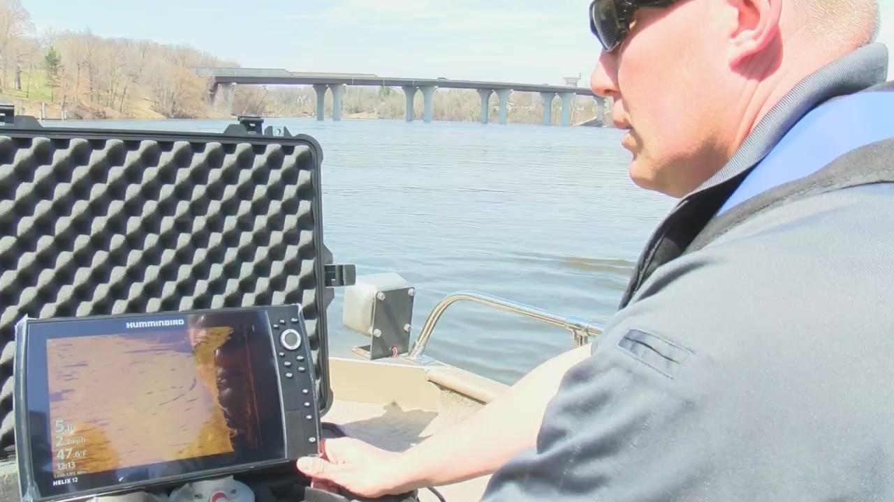 Emergency responders train on new sonar equipment