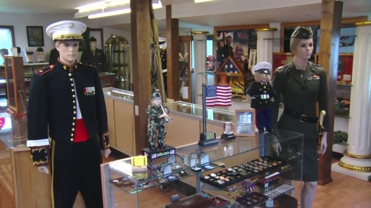 Hometown Heroes - Frank and Nancy's Marine Corps Museum