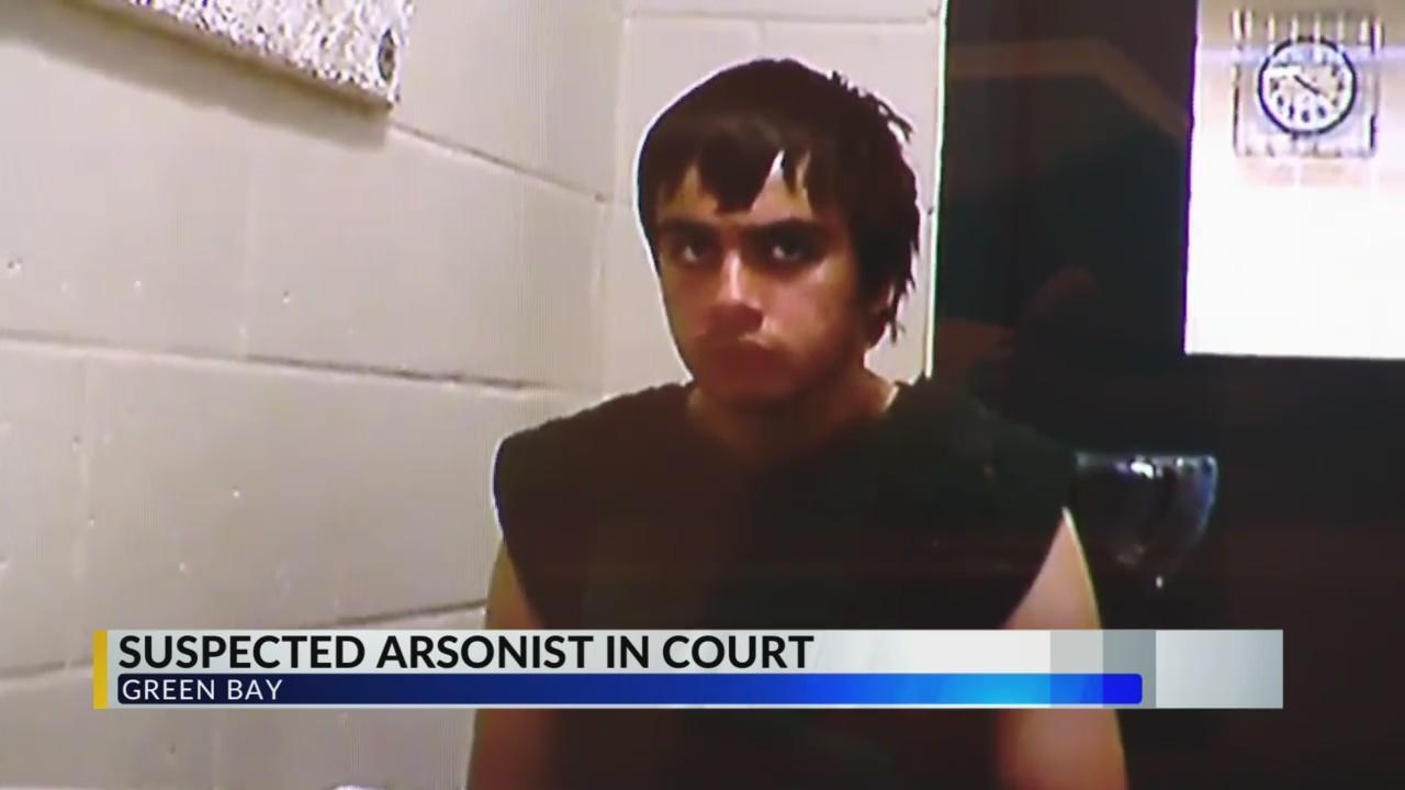 Suspected Arsonist in Court