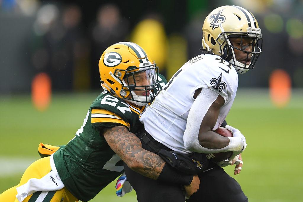 Packers Josh Jones vs Saints