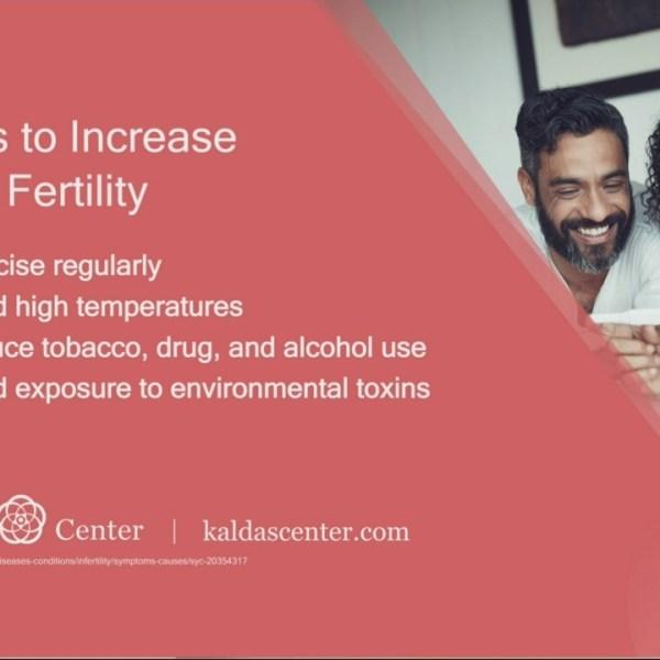 Male Fertility with the Kaldas Center