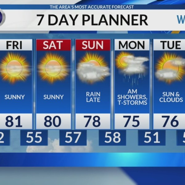 Thursday morning video forecast 6/6