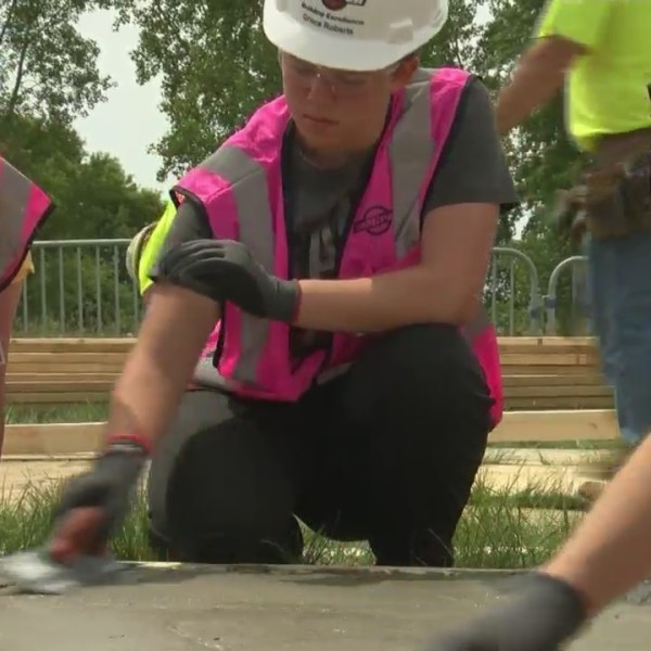 Area girls learn about careers in construction