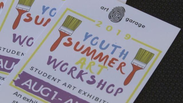 Art Garage hosting summer workshop series for artists of all ages