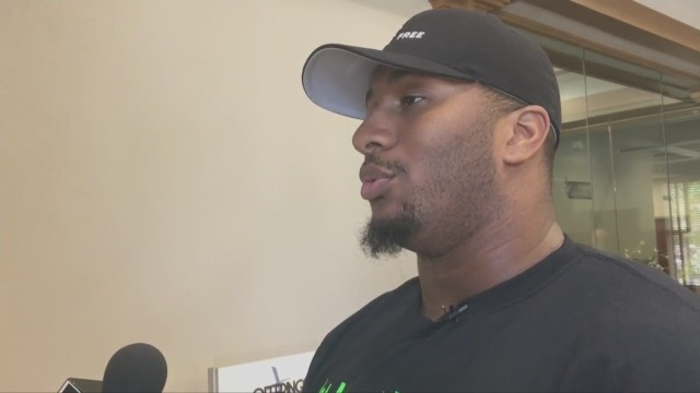 """Mike Daniels hosts first-ever """"Back to School Bash"""""""