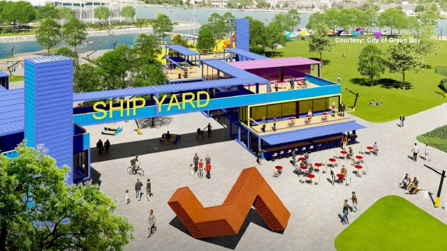 Green Bay shares new concept plan for Shipyard District