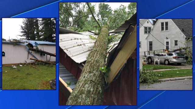 Insurance companies respond to weather damage