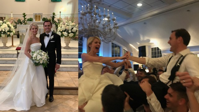 Rep. Gallagher marries Green Bay native, Broadway actress