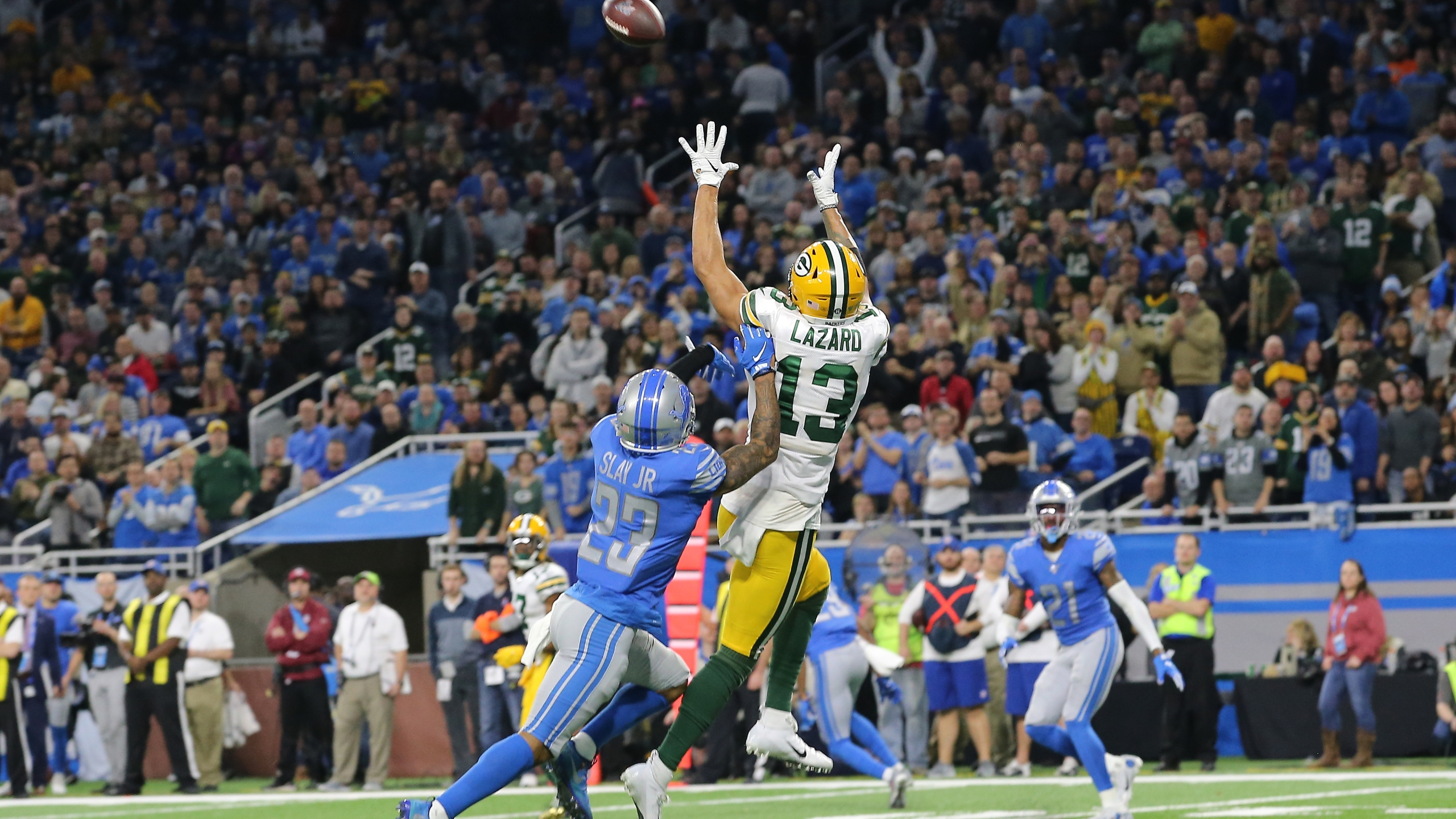 Packers Activate Wide Receiver Allen Lazard Off Injured Reserve Wfrv Local 5 Green Bay Appleton