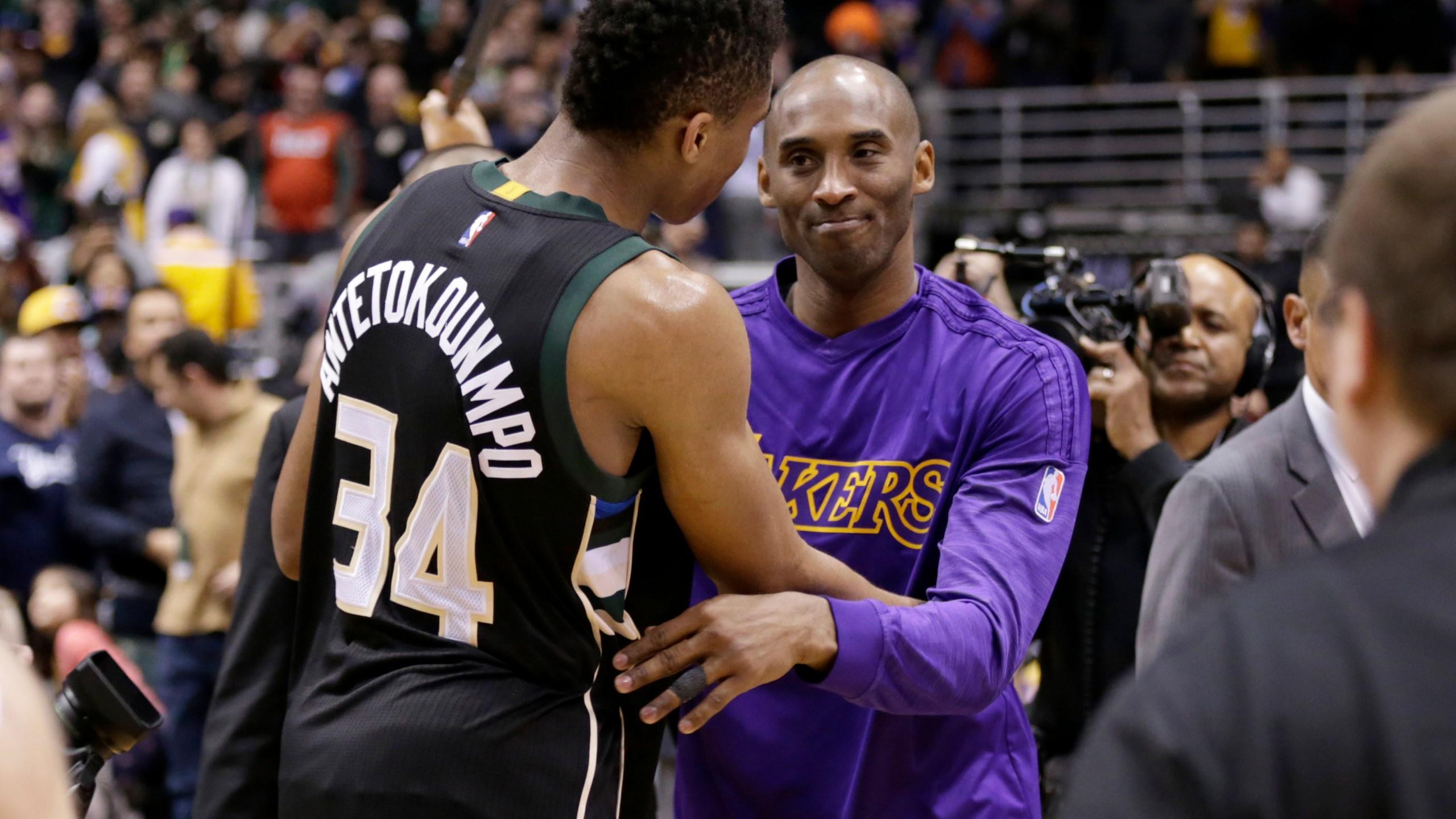 Giannis remembers Kobe