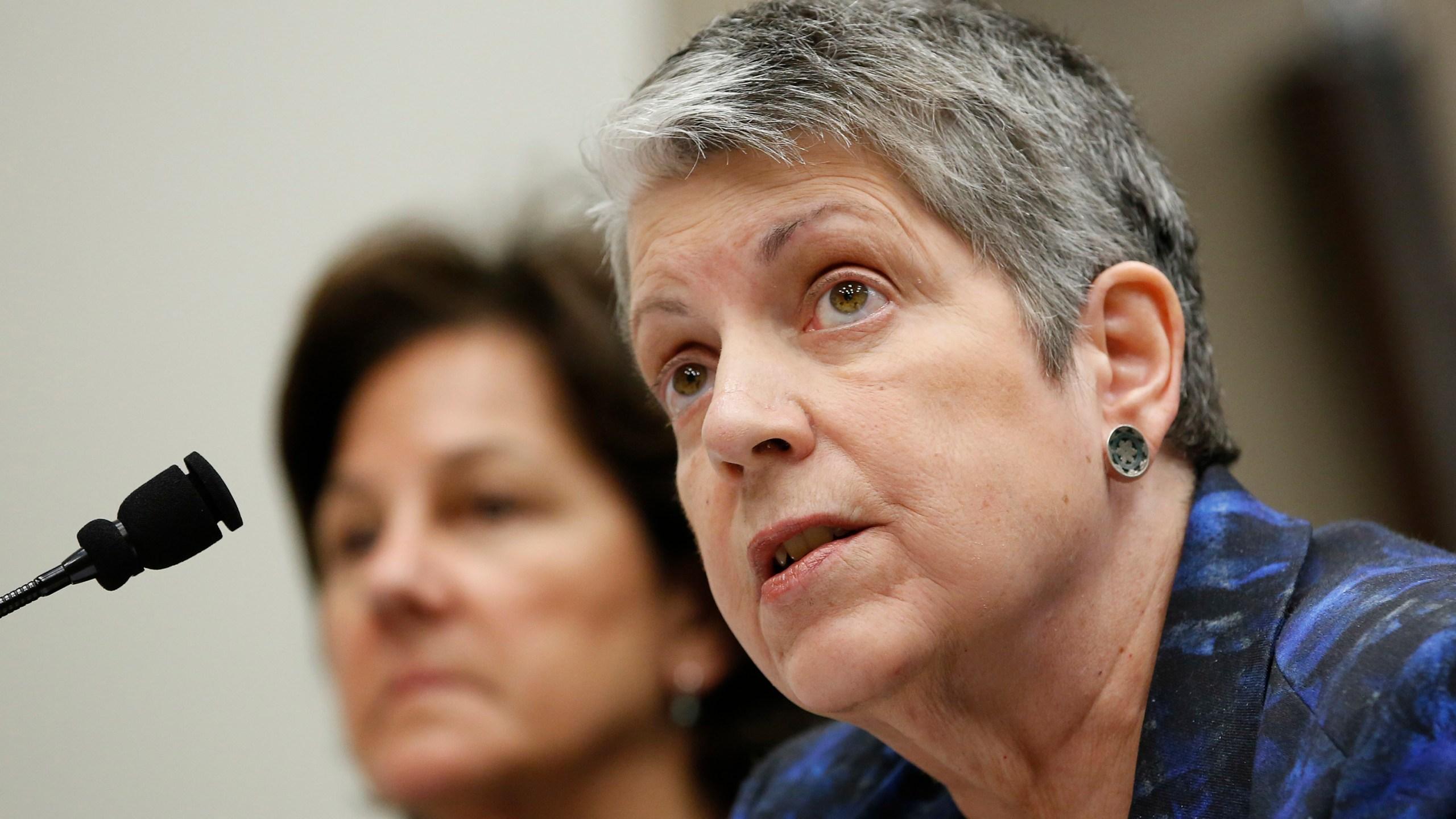 Monica Lozano, Janet Napolitano