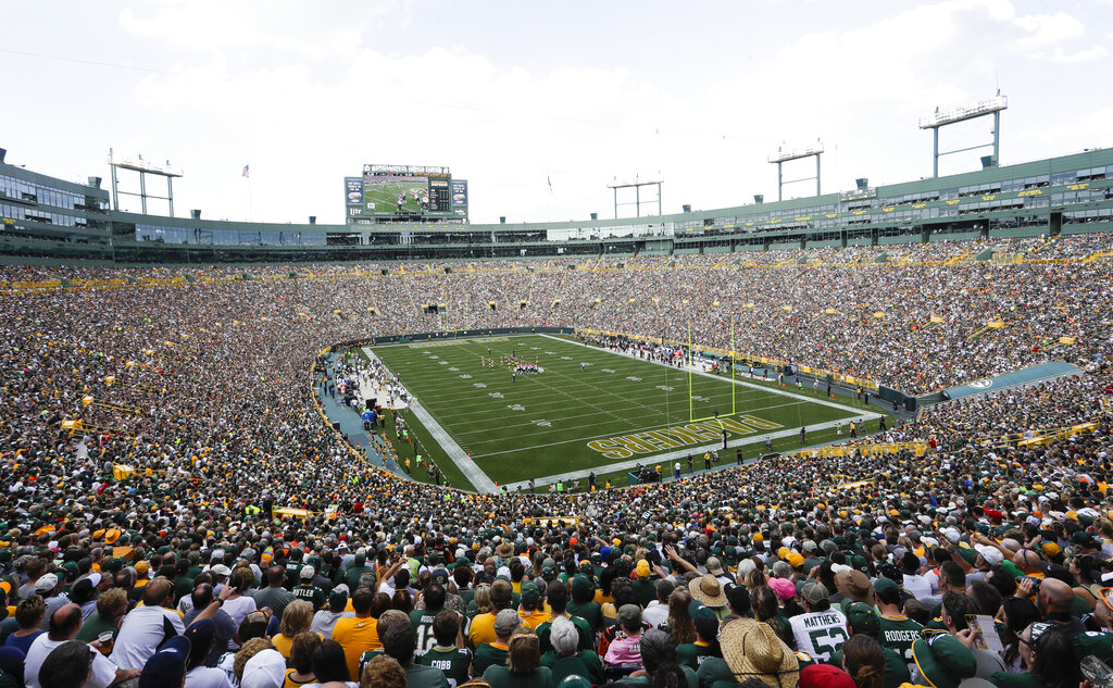 Green Bay Packers Home Opener To Be Played In An Empty Lambeau Field Wfrv Local 5 Green Bay Appleton