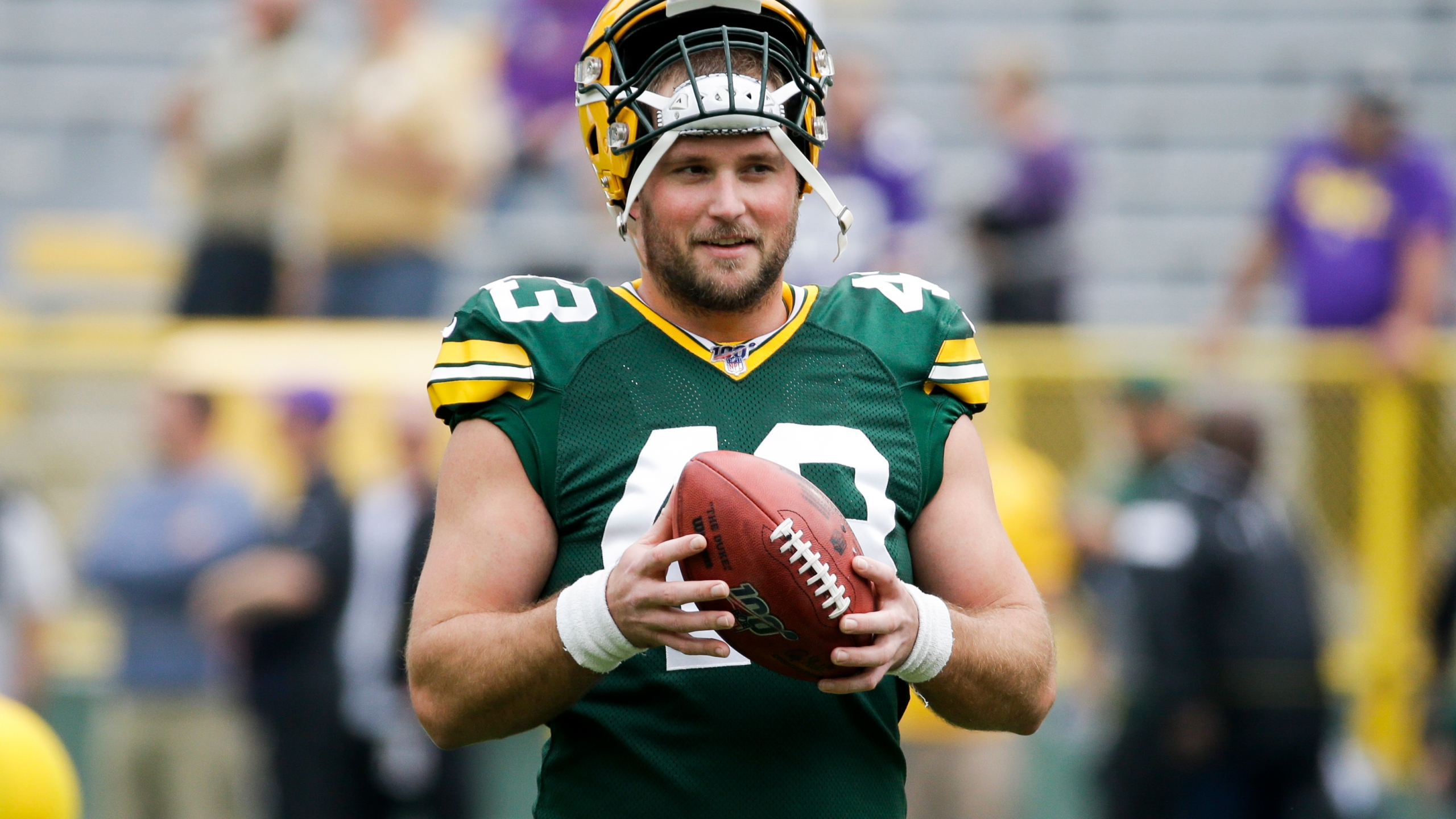 Packers Longsnapper Bradley Added To Covid 19 Reserve List