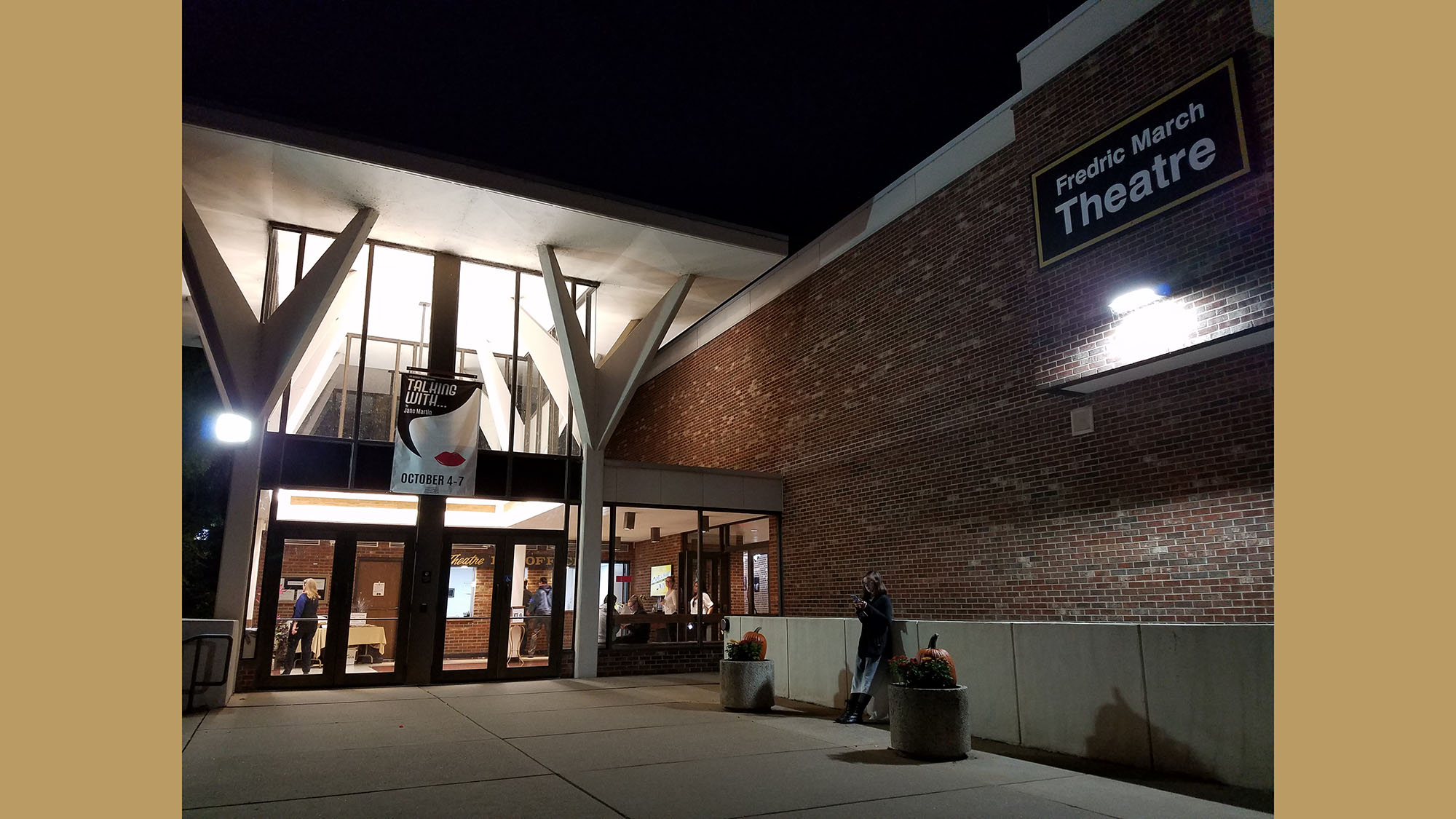 Warren Gerds Critic At Large Fredric March Name Scratched From Uw Oshkosh Theater