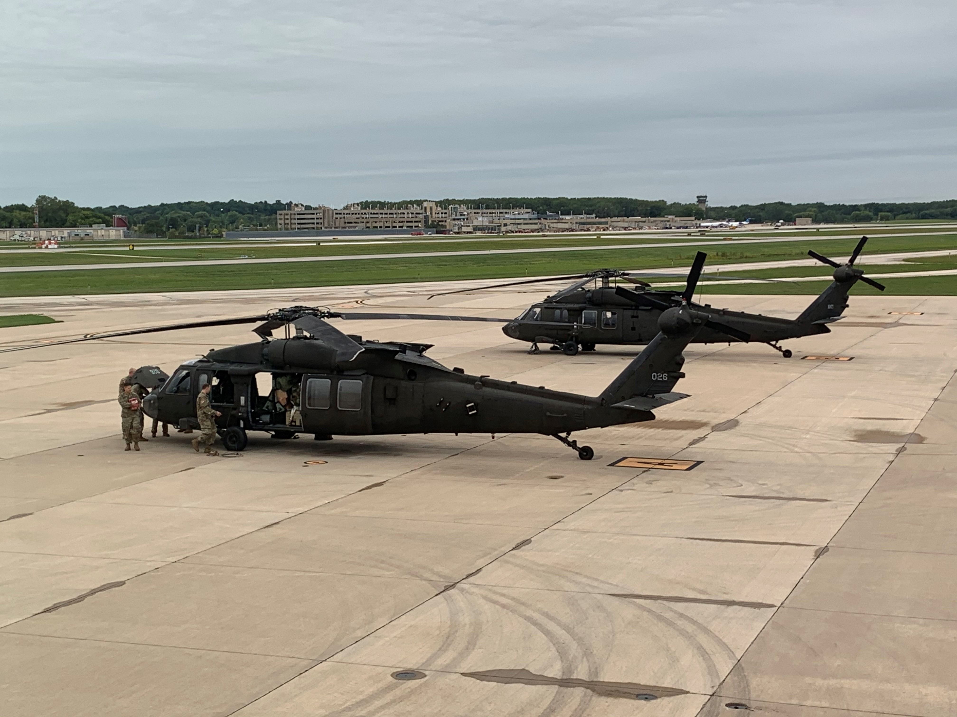 Wisconsin National Guard En Route To California To Battle Wildfires Wfrv Local 5 Green Bay Appleton