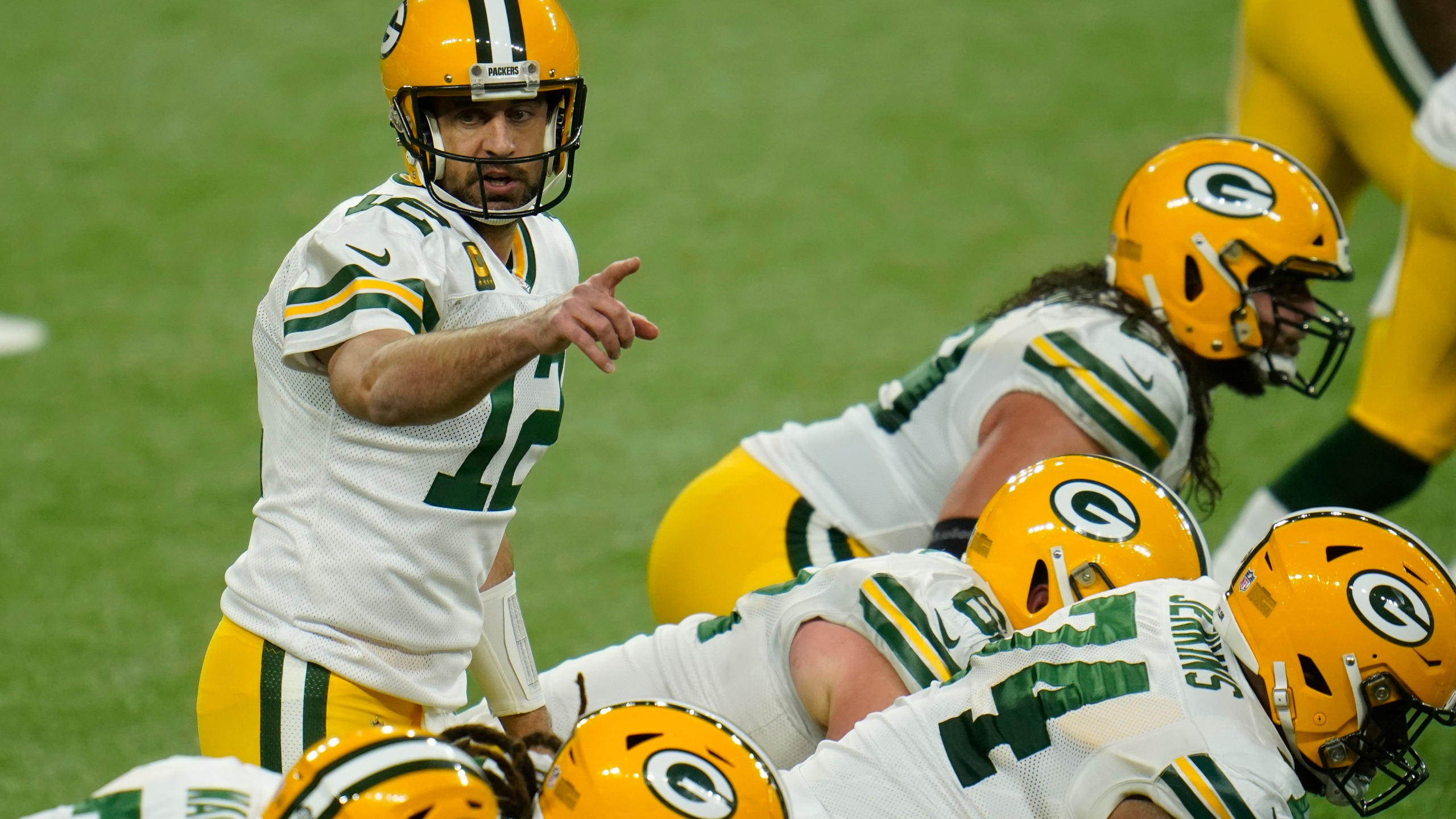 Packers Clinch Nfc North With Win Over Lions 31 24