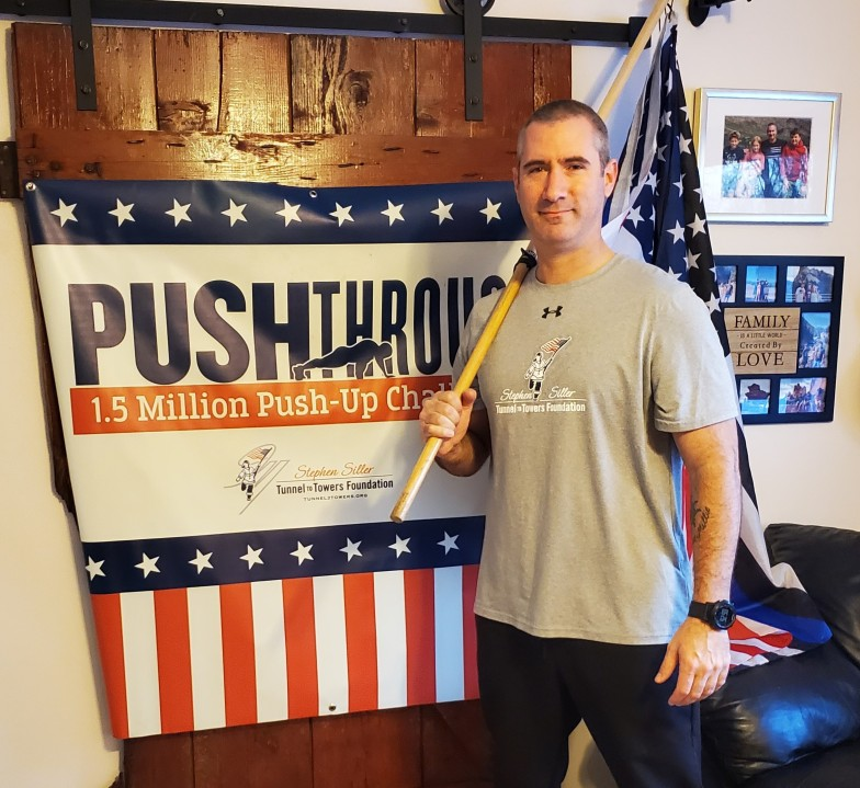 Wisconsin father hits push-up milestone in world record attempt | WFRV Local 5 - Green Bay, Appleton