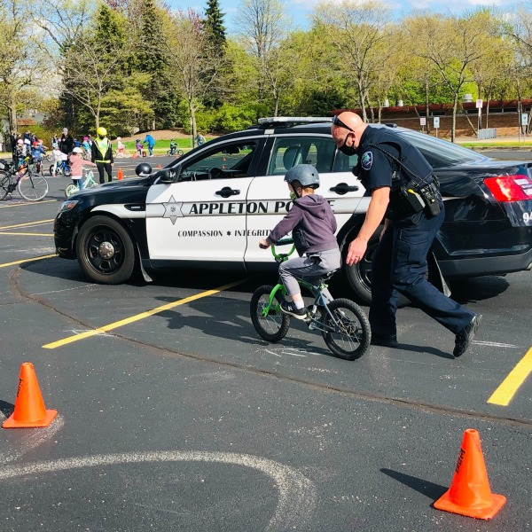 Photo Courtesy of Appleton Police Department FB page