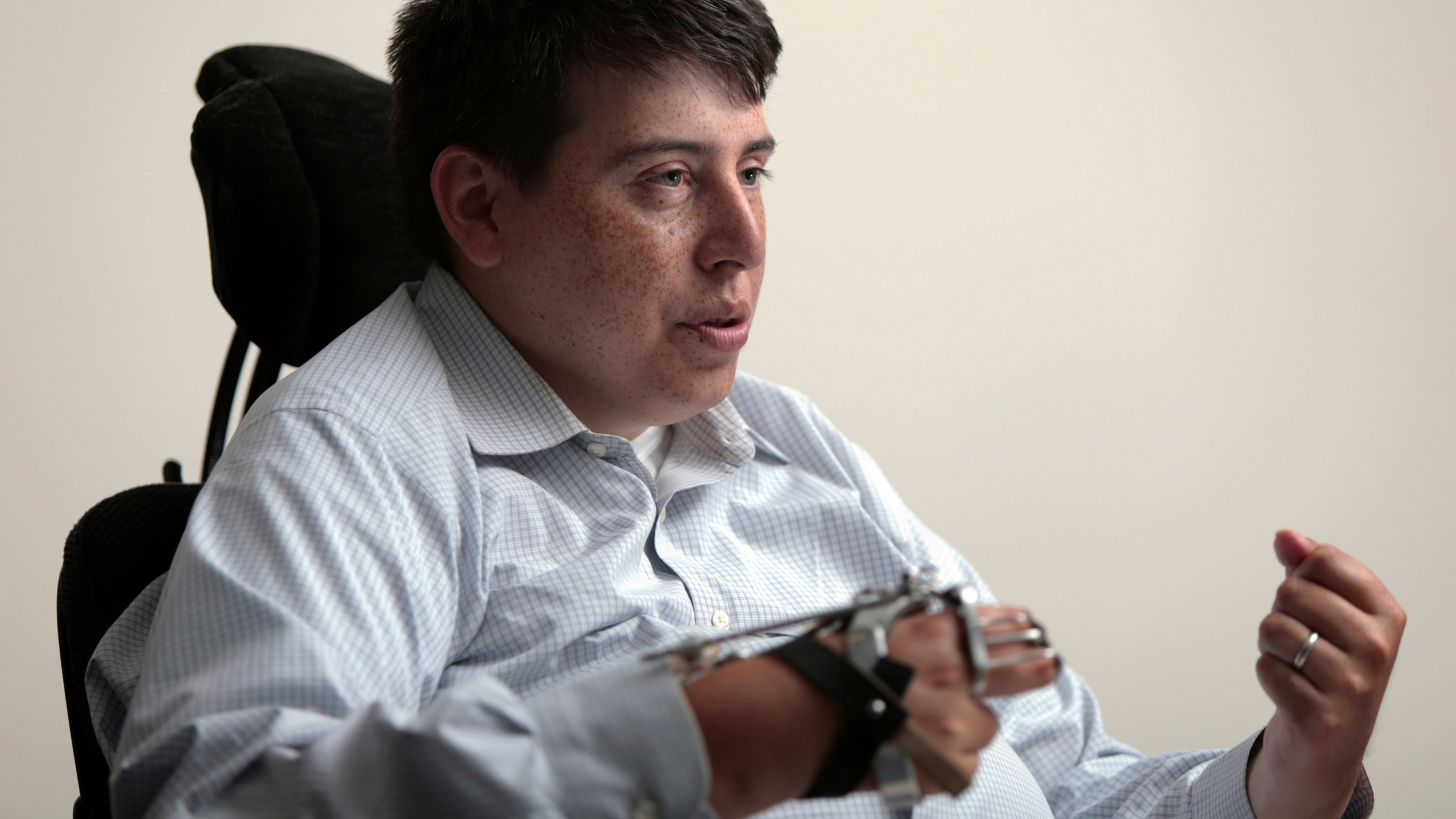 Disabled Wisconsin lawmaker asks to participate remotely