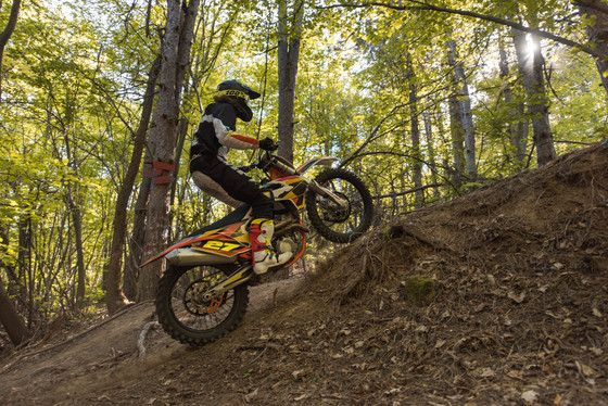 Off-highway motorcyle (OHM) trail passes are now available for non-residents to purchase. / Photo Credit: iStock / skynesher